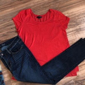 The Limited - casual scoop neck top